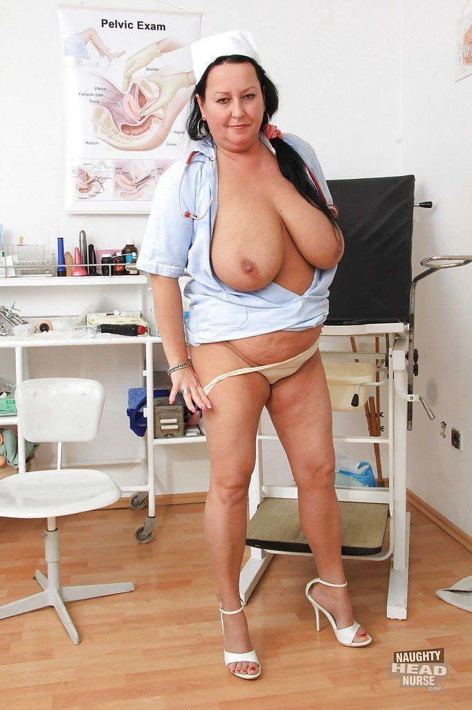 Old nurse big tits