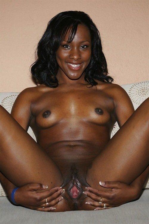 Nude black girls spread eagle