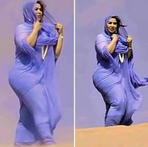 Thick arab muslim girls
