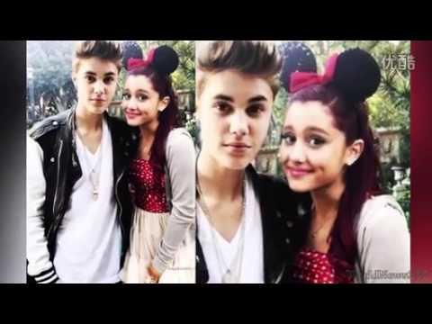 Ariana grande and justin bieber kissing