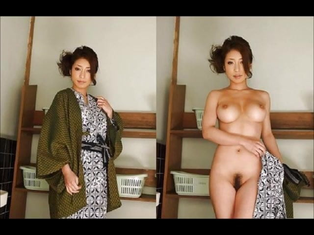 Chinese women dressed and undressed