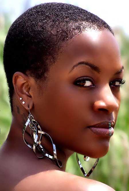 Nude black women short hair