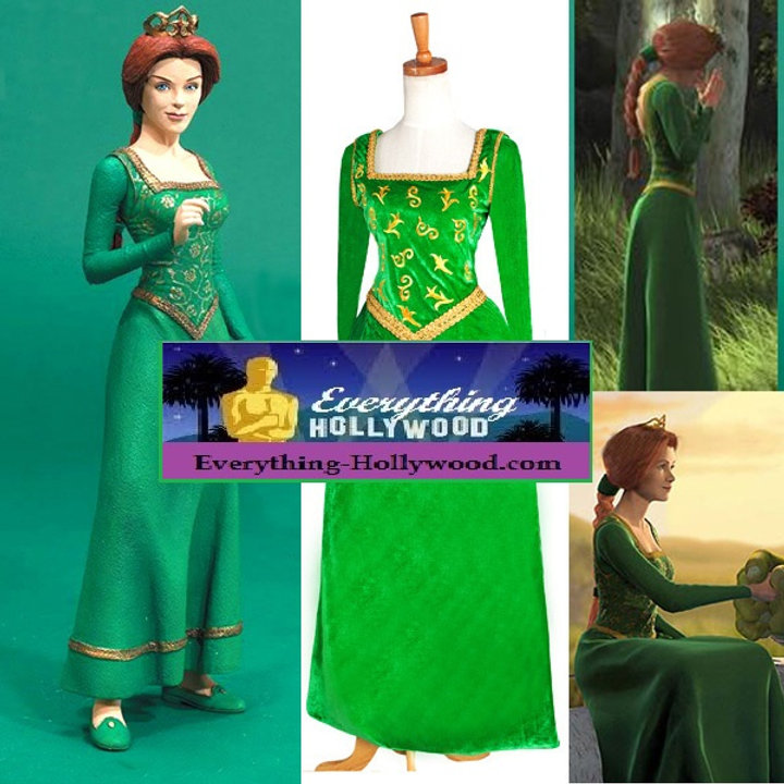Adult princess fiona costume