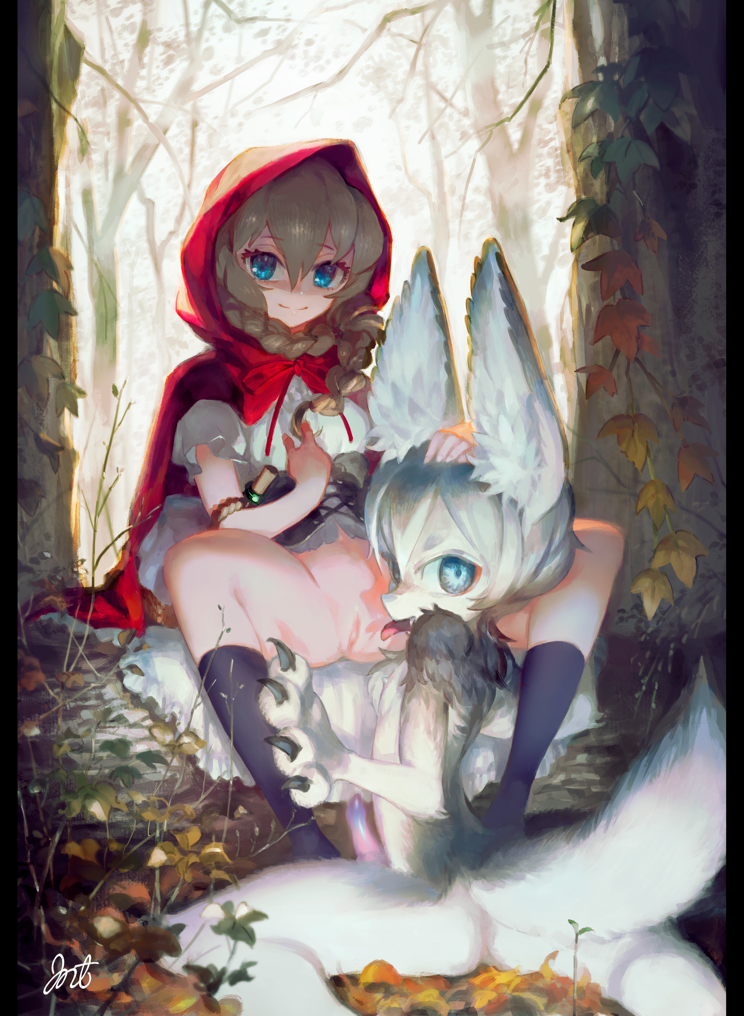 Anime red riding hood porn