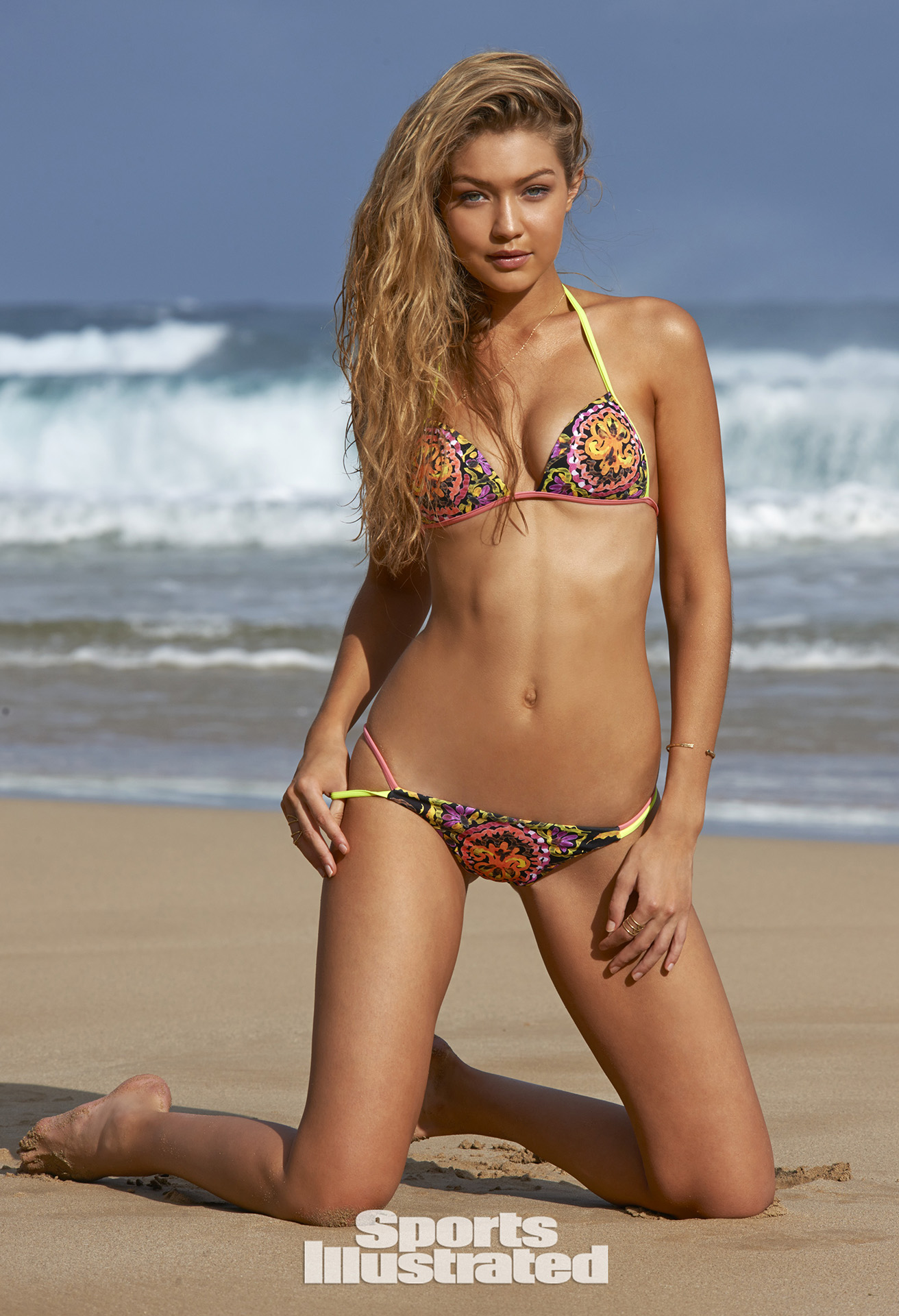 Gigi hadid sports illustrated swimsuit
