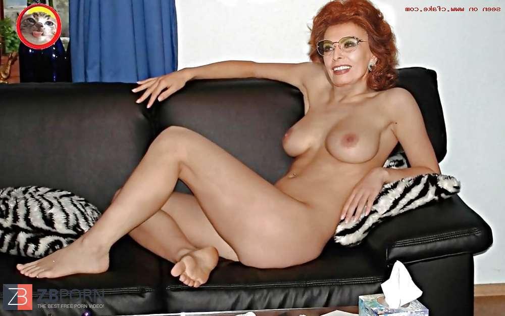 Sofia loren naked fakes