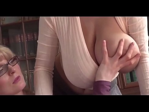Seduced by landladies bosom bust breasts