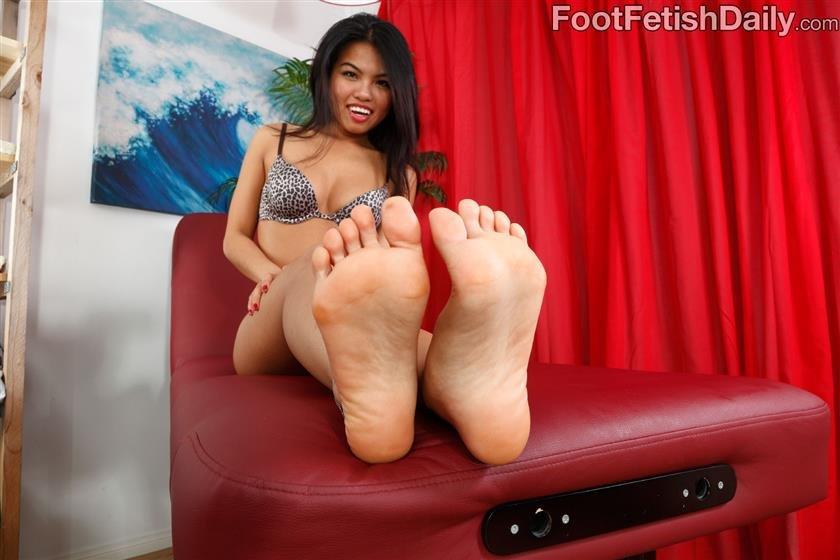 Cindy starfall foot porn