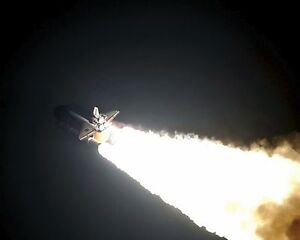 Space shuttle endeavour night launch