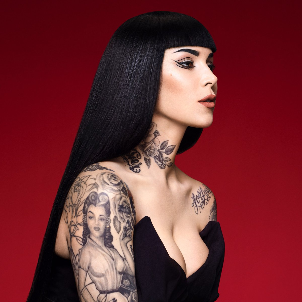 Kat von d tattoos