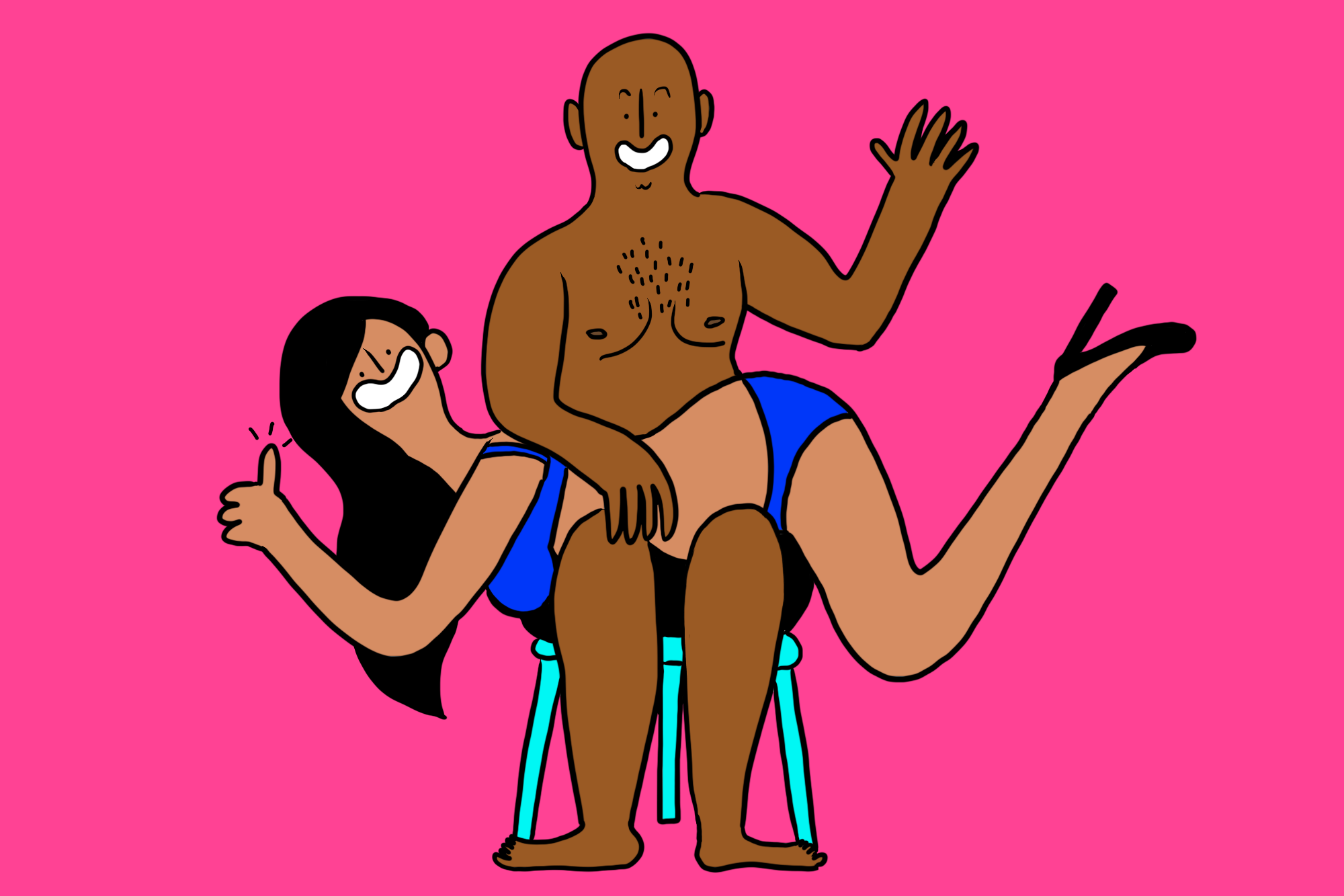 How to clear up spank marks