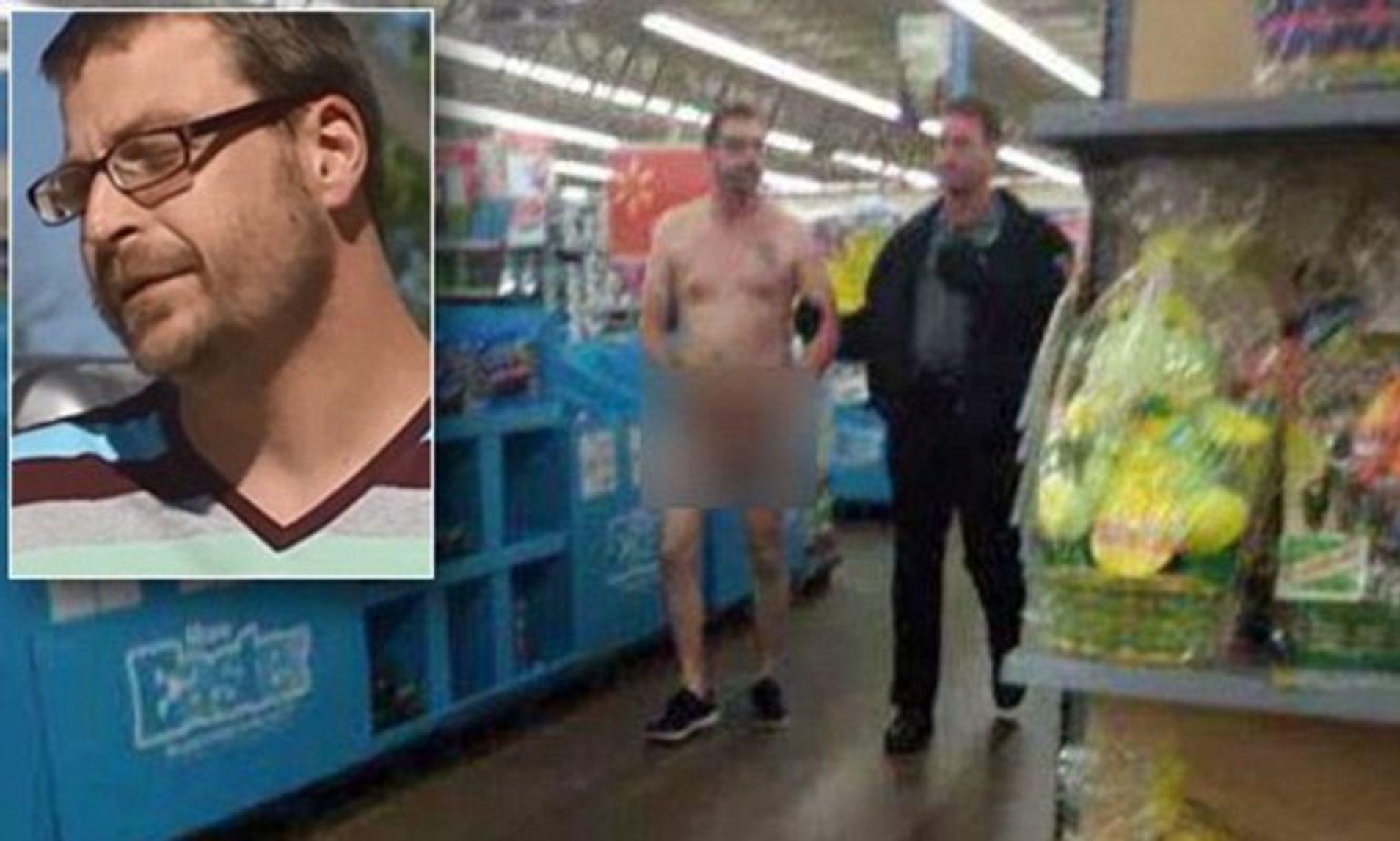 Girls caught naked at walmart