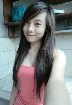 Cute filipina teen selfie
