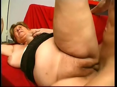 Horny grandmas getting fucked