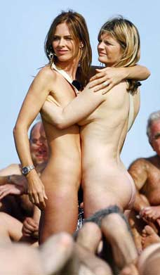 Trinny and susannah naked