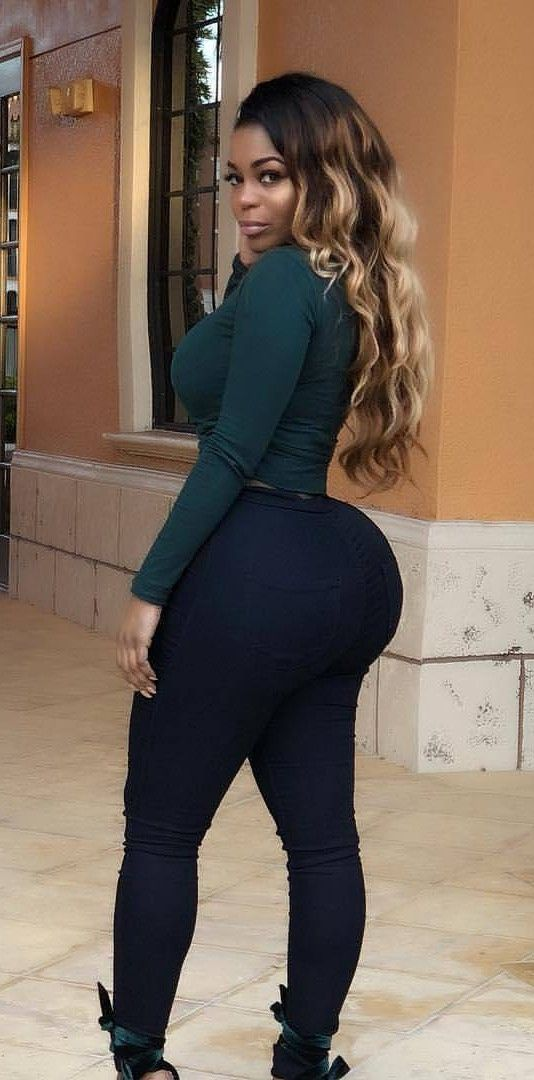 Black girls with booty