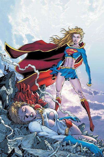 Power girl as supergirl