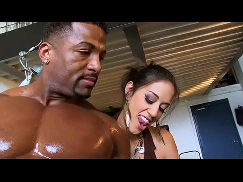 Big muscle men having sex