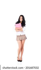 Young teen girls short skirts