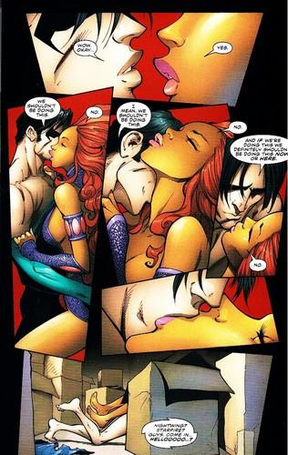 Starfire and robin nude sex