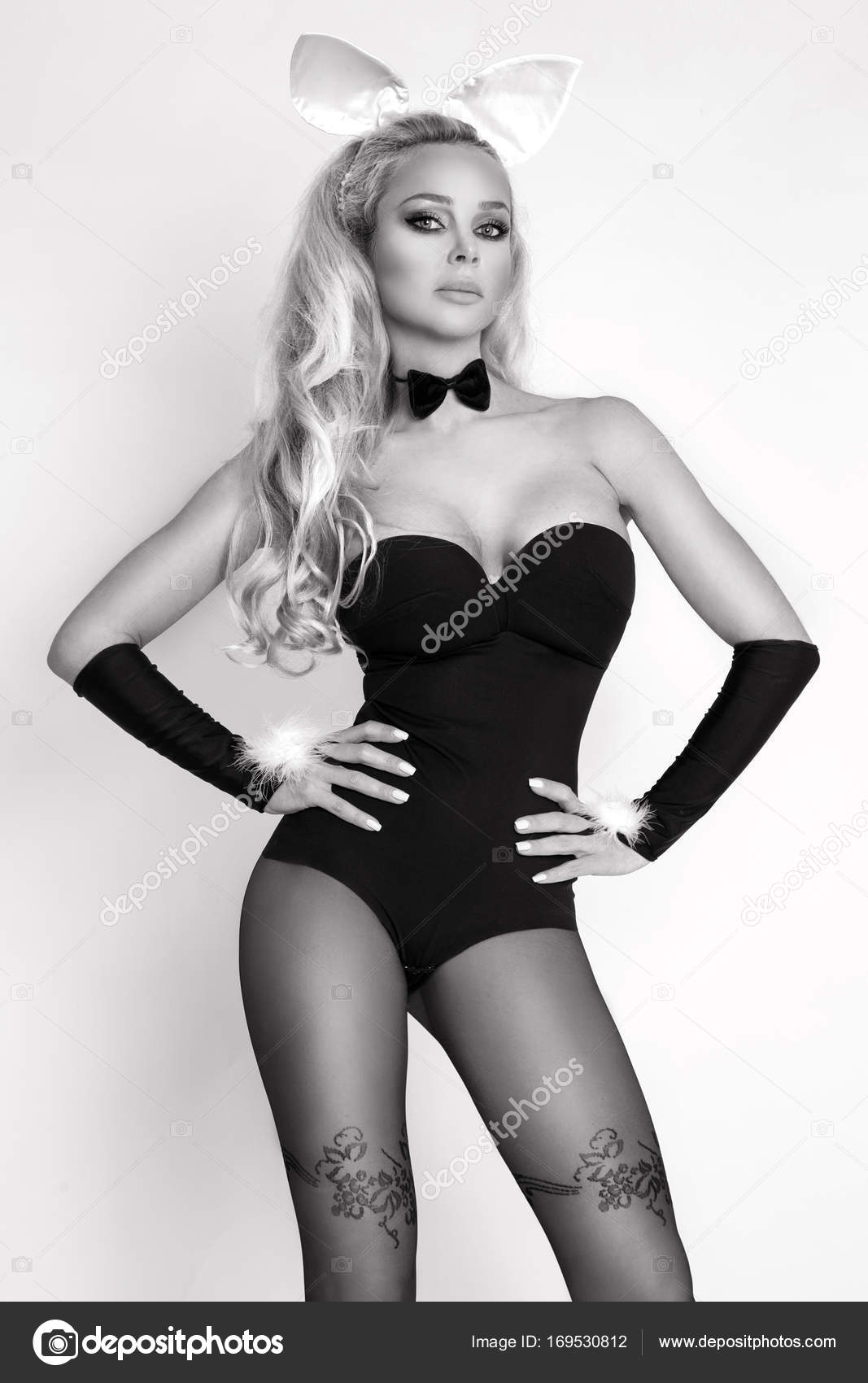 Black large sexy woman
