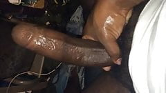 Black big head dick
