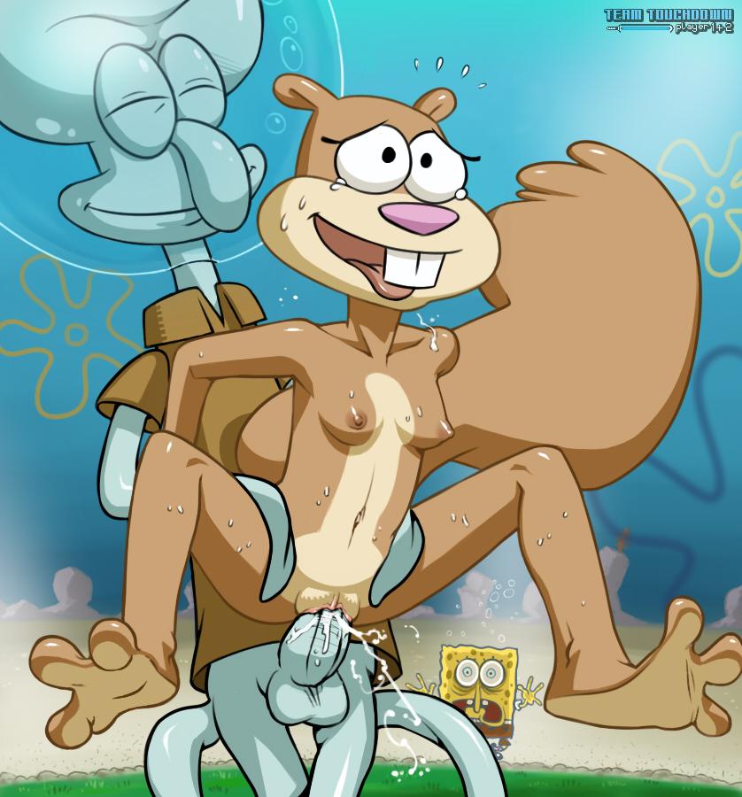Spongebob squarepants sandy cheeks hentai
