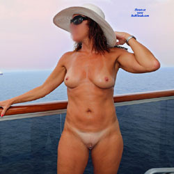 Cruise ship balcony nude