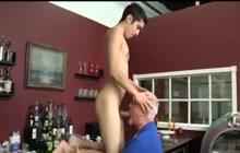 Grandpa and boy blowjob