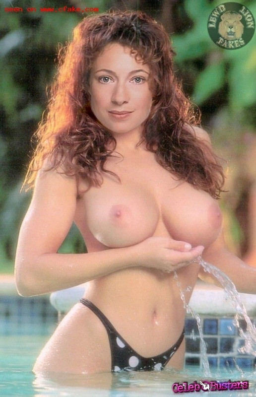 Alex kingston nude fakes