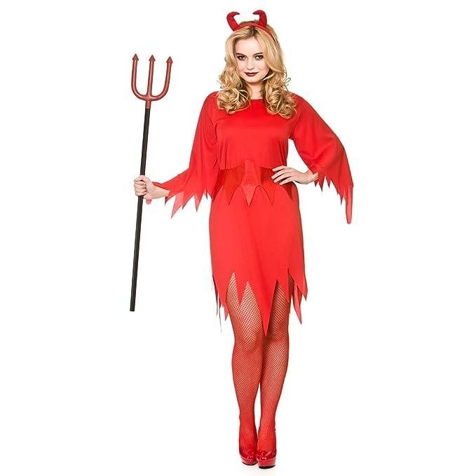 Glamour devil girl costume