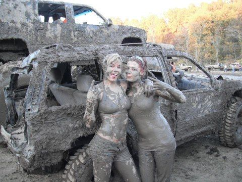 Mud trucks and girls naked