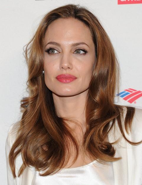 Angelina jolie long hair