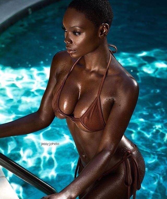 Beautiful dark skin girls nude
