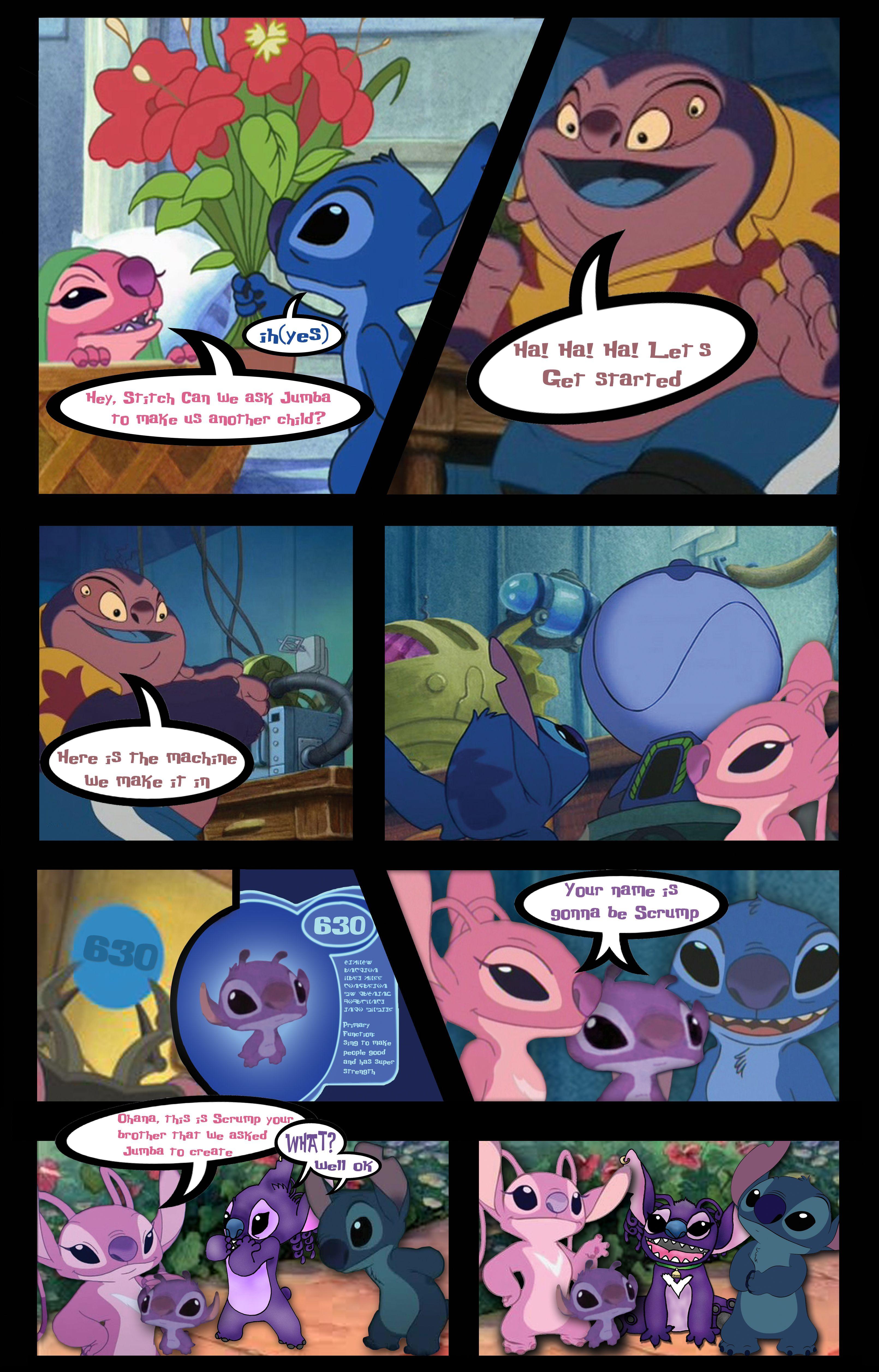 Lilo and stitch comic