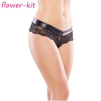 Thong g string crotchless panties