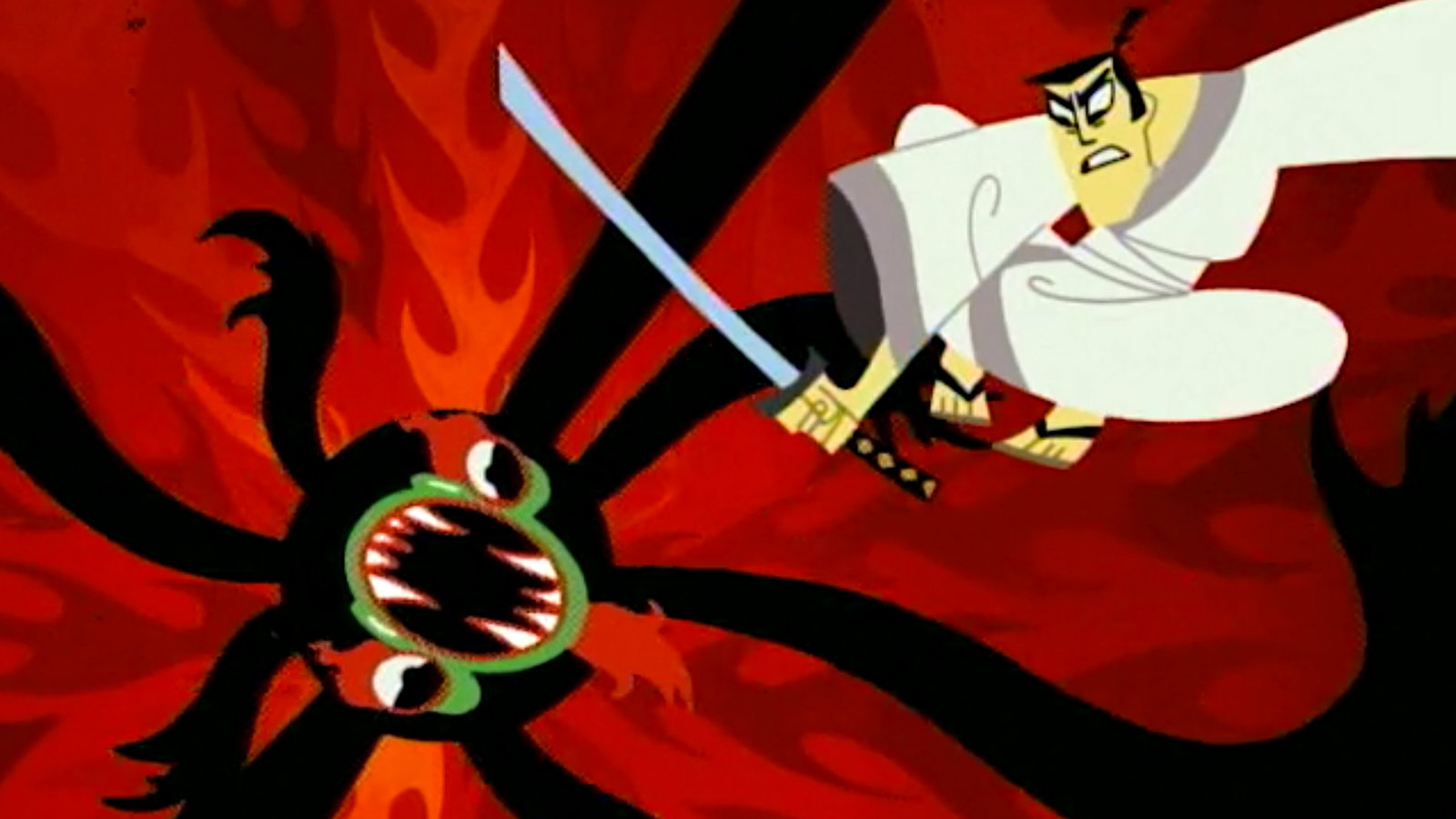Cartoon network samurai jack