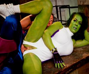 Chyna she hulk lesbian