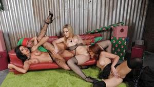 Naked women sucking dick