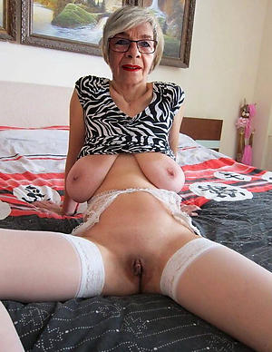 Pussy of old women