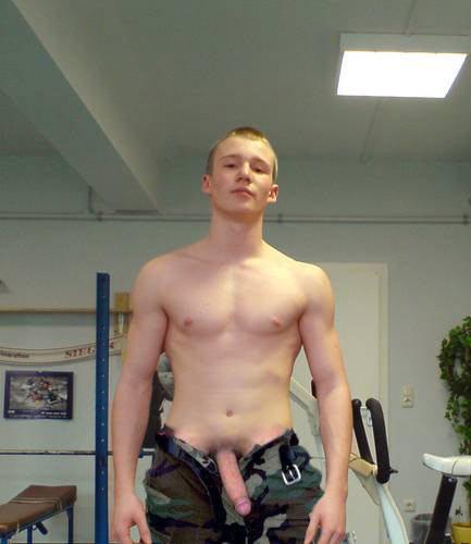 Nude studs amateur straight selfie