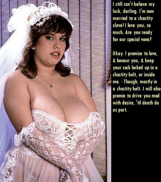 Femdom marriage using chastity