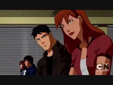 Young justice miss martian and superboy