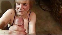 70 year old granny facial