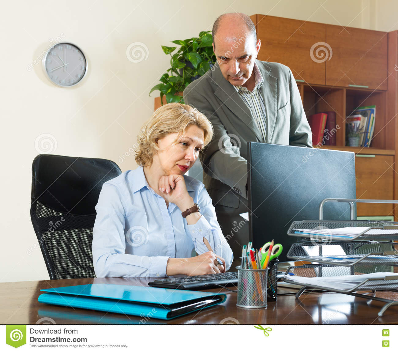 Pictures of mature assistant