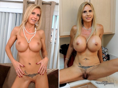 Brooke tyler fake tits