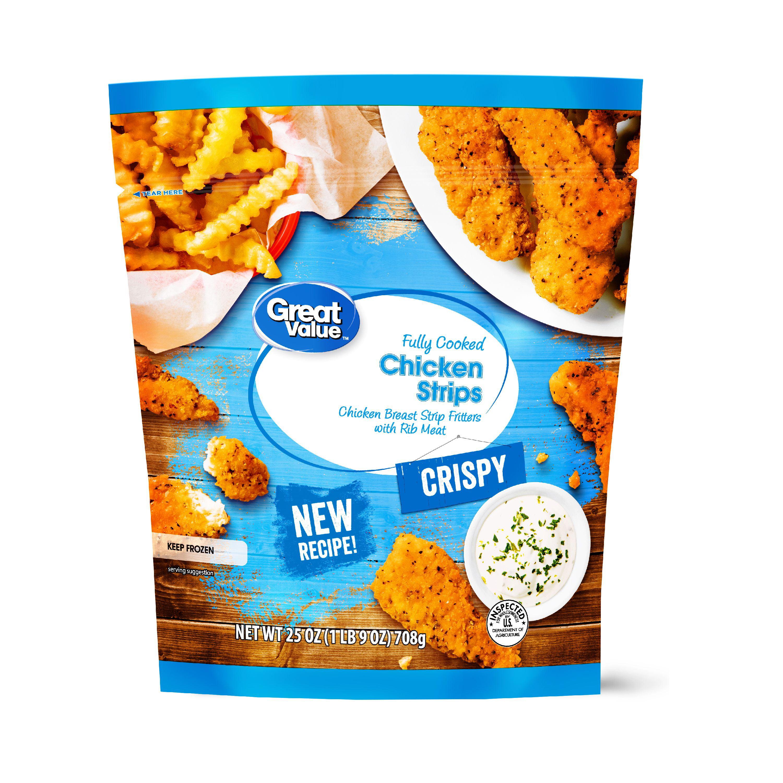 Calories in walmart chicken strips
