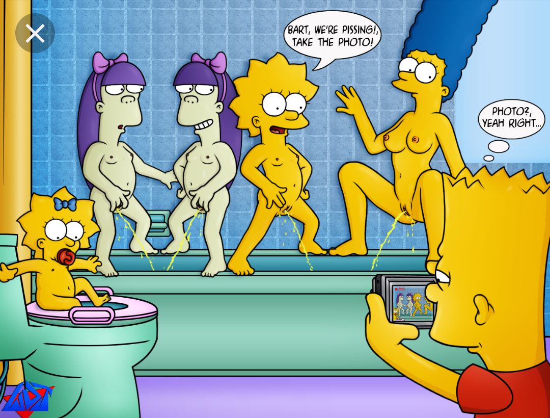The simpsons naked lisa