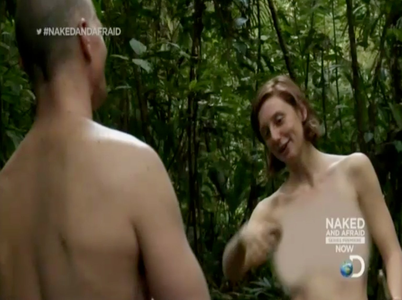 Women of naked and afraid nude
