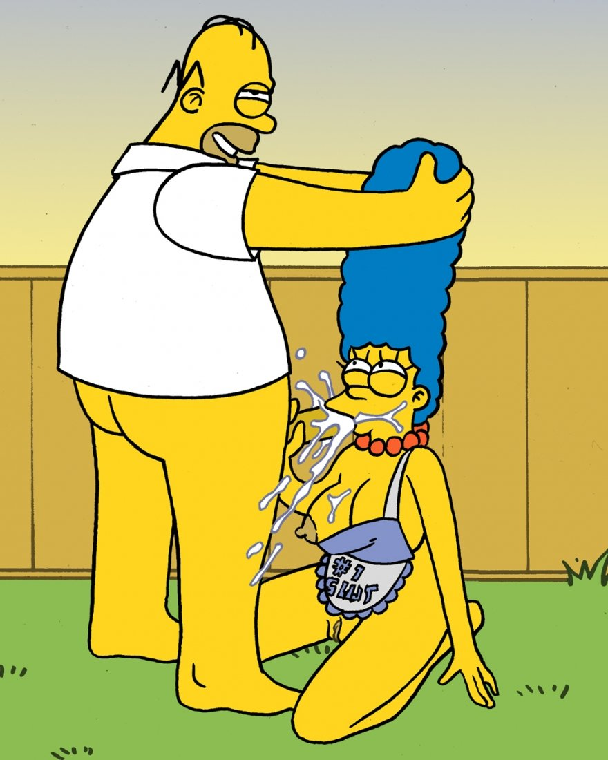 Marge and bart hentai